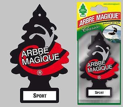 Arbre Magique Deodorante per Auto, Profumazione Prolungata fino a 7 Settimane (3 PEZZI, SPORT)