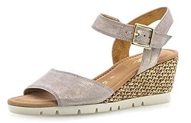 Femme 842 confortable 22 sandales chaussures Gabor Compensées D'été OkuwPiZTlX