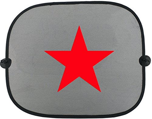 RED STAR ON TOUR Kinder Auto Sonnenschutz