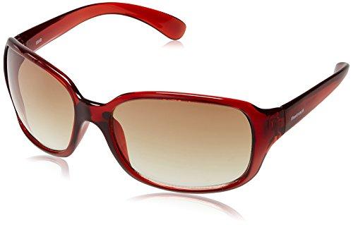 Fastrack Rectangular Men's Sunglasses (P101BR2Brown)