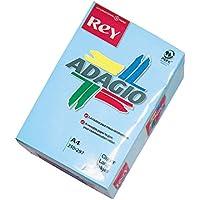 Dohe 30205 - Pack de 500 papeles, DIN A4, 80 g, color azul celeste pastel