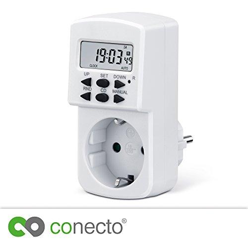 conecto Minuterie numérique pour prise de couran