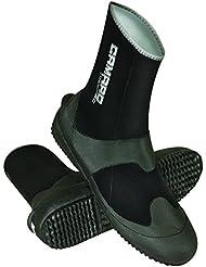 Camaro Tauchfüsslinge Titanium PRO Boot - Escarpines de buceo, color Negro, talla 46/47