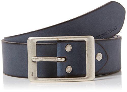 Cross Jeans Unisex 0382K Gürtel, Blau (Blue 014), (Herstellergröße: 105)