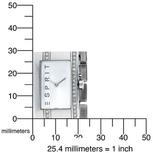 Esprit Silver Houston Analog Quarz Damenuhr ES000M02816 - 4