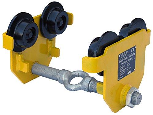 Preisvergleich Produktbild Rotek Unterflansch Laufkatze, Kapazität 500kg, LK-00500-050-220