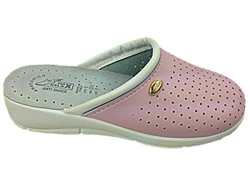 Foster Footwear , Sandales Compensées femme rose clair