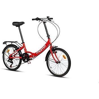 Moma Bikes First Class 2 RJ Bicicleta Plegable Urbana, 6V ...