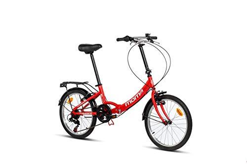 Moma Bikes II Red Vélo de Ville Pliant First...
