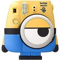 Fujifilm Instax Mini Minions Fotocamera Istantanea per Foto, Formato 62x46 mm, Giallo con Custodia Blu