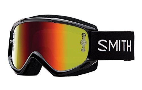 SMITH MX Goggle V1 Max black red mirror