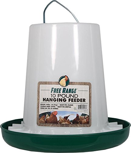 Harris Farms Llc Animaux 4227 10 Lb Plastic Hanging alimentation de volailles