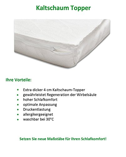 Boxspringbett Clarissa 140×200 Kunstleder Weiß Bild 6*