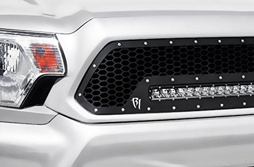 black-luxury-mesh-front-hood-bumper-grill-grille-guard-2009-2012-dodge-ram-1500-by-rl-racing