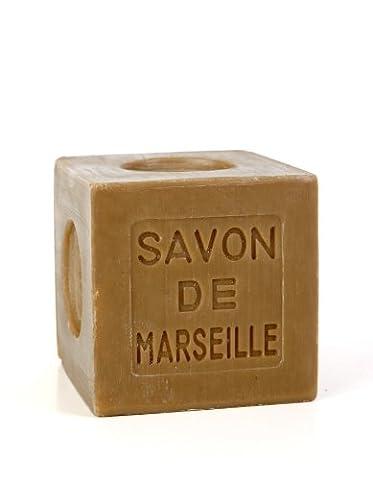 Marius Fabre Cube of Pure Marseilles Soap (200G, 1. Green (Olive Oil))