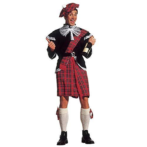 Widmann 37573 Erwachsenenkostüm Schotte, grün, - Schotte Kostüm