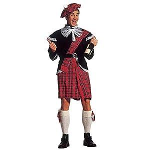 WIDMANN Widman - Disfraz de escoces para hombre, talla XL (3240S)