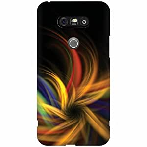 LG G5 Hard Plastic Back Cover - Multicolor Designer Cases Cover by Printland
