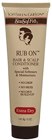 Sta-Sof-Fro Rub On Hair & Scalp Conditioner-5 oz by Sta-Sof-Fro