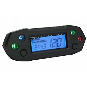 Compteur digital KOSO DIGITAL DB-01R multifonctions - REPLAY