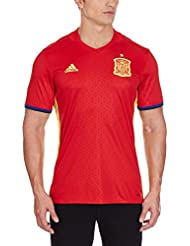 Adidas Men's Fef H 2015-2016 Spain Home Jersey