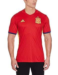 adidas Herren Fußballtrikot UEFA EURO 2016 Spanien Replica