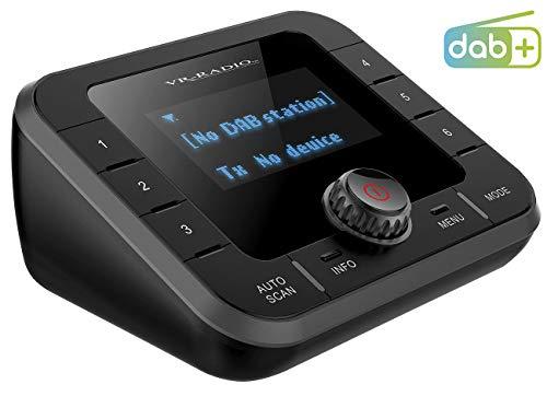 VR-Radio Sender, Bluetooth: DAB+/FM-Tuner für Streaming an HiFi-Anlage & Lautsprecher, Bluetooth (FM Transmitter)