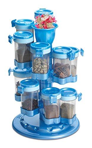 Shopo's 12 Jar Revolving Spice / Masala Rack / Masala Box / Spice Reck