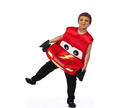 Disfraz de Coche Rojo para niño