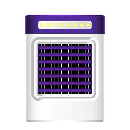 JERFER Enfriador UE Nuevo Cargando S9 Mini Portátil Ventilador Aire Acondicionado Refrigerador Casero