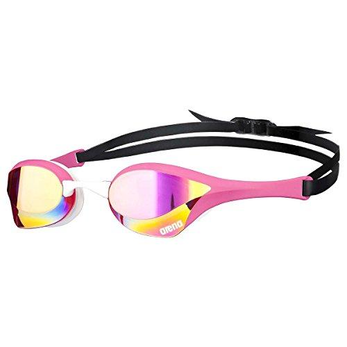 arena Cobra ULTRA Mirror Schwimmbrille, Unisex Erwachsene Einheitsgröße rosa (pink revo/pink/)