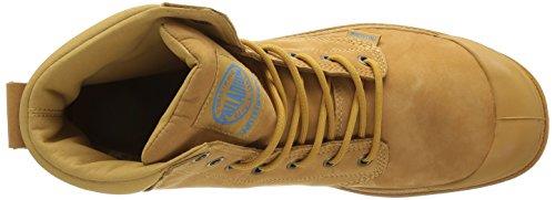 Palladium Spor Cuf Wplu U, Baskets Hautes Mixte Adulte Jaune (A17 Amber Gold/Diva Blue)