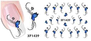 Stickers Pour Ongles avec des Des Papillons-XF1439