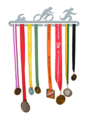 Medal Hanger Display Triathlon Stainless Steel