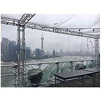 ZLZHW Lona Transparente del Paño Transparente De La Lona para Acampar Al Aire Libre del Vehículo del Picnic De Los Muebles/Tamaños Múltiples Disponibles (Tamaño : 4m×3m)