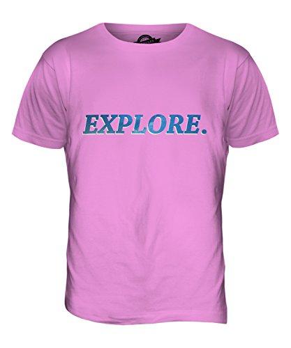 CandyMix Erforschen Sie Weltraum Herren T Shirt Rosa