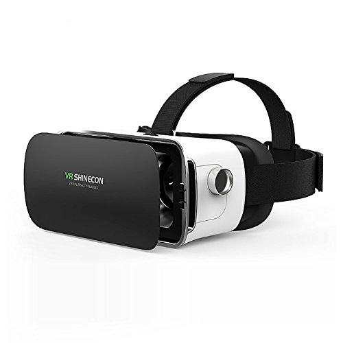 Unbekannt Fei VR Brille 3D Handy Brille HD Virtual Reality Kopfbrille, verstellbare Linse, 3D Movie Video Smartphones mit 11,5-15,2 cm Bildschirm (Video Brille Virtual Theater)