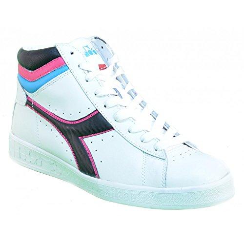 Diadora - Diadora Game High Sneaker Weiss Leder 158518 Weiß