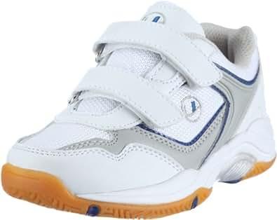Ultrasport Sport Indoor Schuh,10069, Unisex-Kinder Sportschuhe - Indoor, Weiss (White/blue 100), EU 32