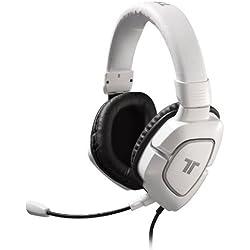 TRITTON AX180 Casque Gaming Stéréo compatible PS4 / PS3 / Xbox 360 / Wii U / PC / Mac - Blanc glossy