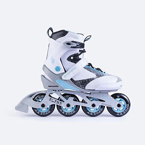 SPOKEY® ELENE Inline Skates | Kinder | Damen | Inline Blades | ABEC 7 Chrome | Aluminiumschiene | Größen 36-42