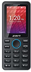ZEN X61 Dual SIM Feature Phone (Black-Blue)