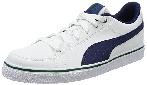 Zapatillas Puma Court Point Vulc V2 PS Puma White-BLU - Color - 0, Talla - 3.5