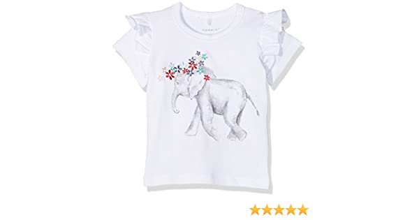 NAME IT Baby-M/ädchen Nbfgaka Ss Top T-Shirt