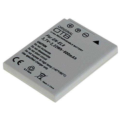 Li-Ion Akku für Nikon Coolpix, baugleich EN-EL8 (En-el8)