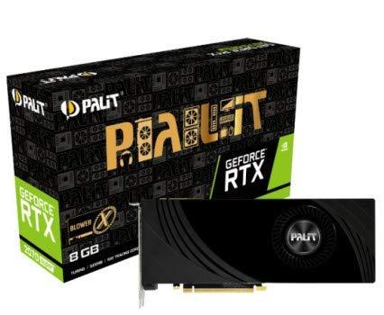 Palit RTX2070SUPER X, 8GB, 3DP, HDMI, Blower X Design, 1605/1770 MHz Interno Unidad de Disco óptico