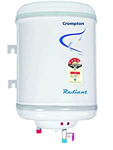 Crompton  Radiant SWH10LT 10-Litre Vertical Water Heater (Ivory)