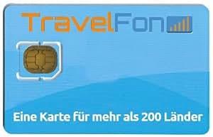TravelFon SIM Karte fuer Tunesien mit 10 Euro Guthaben