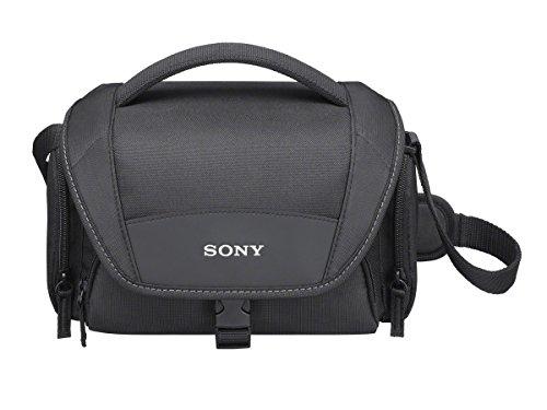 Galleria fotografica Sony LCS-U21 Custodia morbida per fotocamera o videocamera e accessori, Nero
