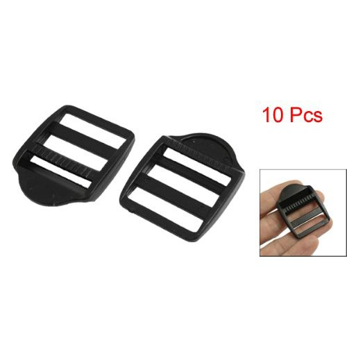 Luggage Buckle - SODIAL (R) 10pzs Replaceable Plastic Luggage Bag Side Buckles for 1 'Wide